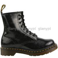 DR. MARTENS 1460 BLACK QQ FLOWERS
