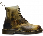 DR. MARTENS 1460 PASCAL JMW TURNER DECLINE OF THE CARTHAGINIAN EMPIRE CRISTAL SUEDE