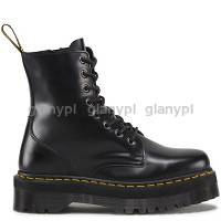 DR. MARTENS QUAD RETRO JADON BLACK POLISHED SMOOTH